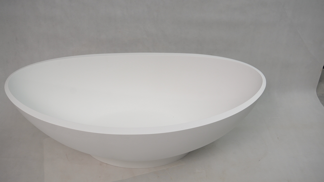 Bellissimo-Best Solid Surface Bathtub Stone Freestanding Bathtub on Bellissimo-1
