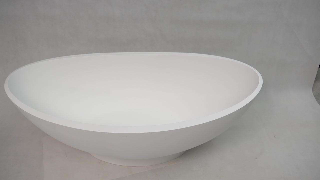 Bellissimo-Manufacturer Of European Style Freestanding Bathroom Solid Surface Bathtub-1