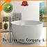 Bellissimo Brand bs8615 resin Stone tub round
