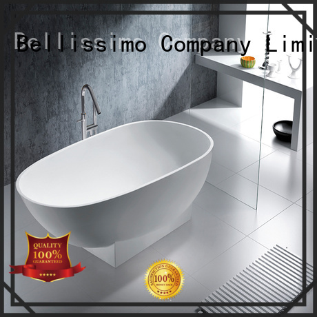 stone resin bathtub with faucet wholesale