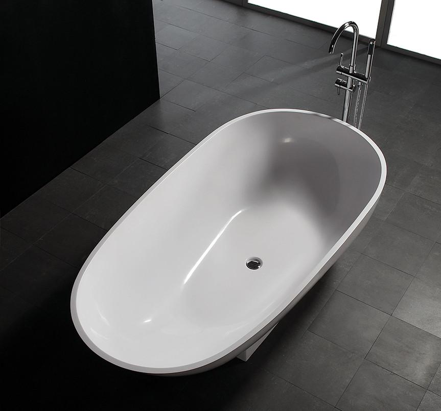 Bellissimo-1800 Mm Royal Boat Design Bathroom Solid Surface Bathtub-2