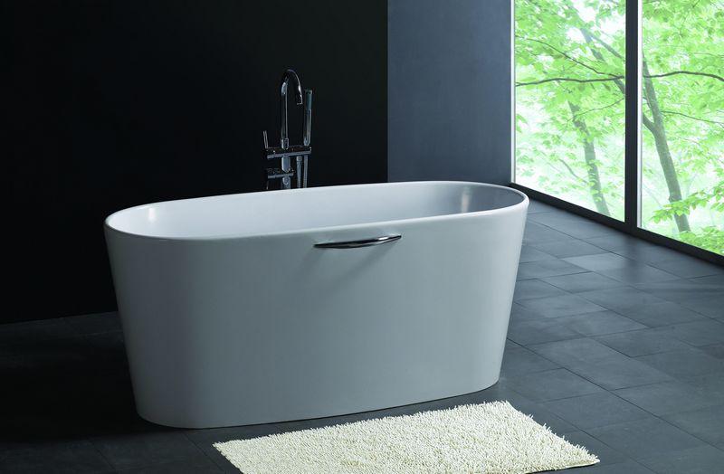 Bellissimo-Small deep freestanding bathroom solid surface bathtub on Bellissimo-2