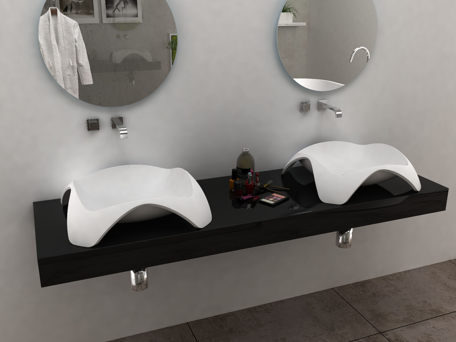 Bellissimo-Find Countertop Sink Solid Surface Wash Basin From Bellissimo