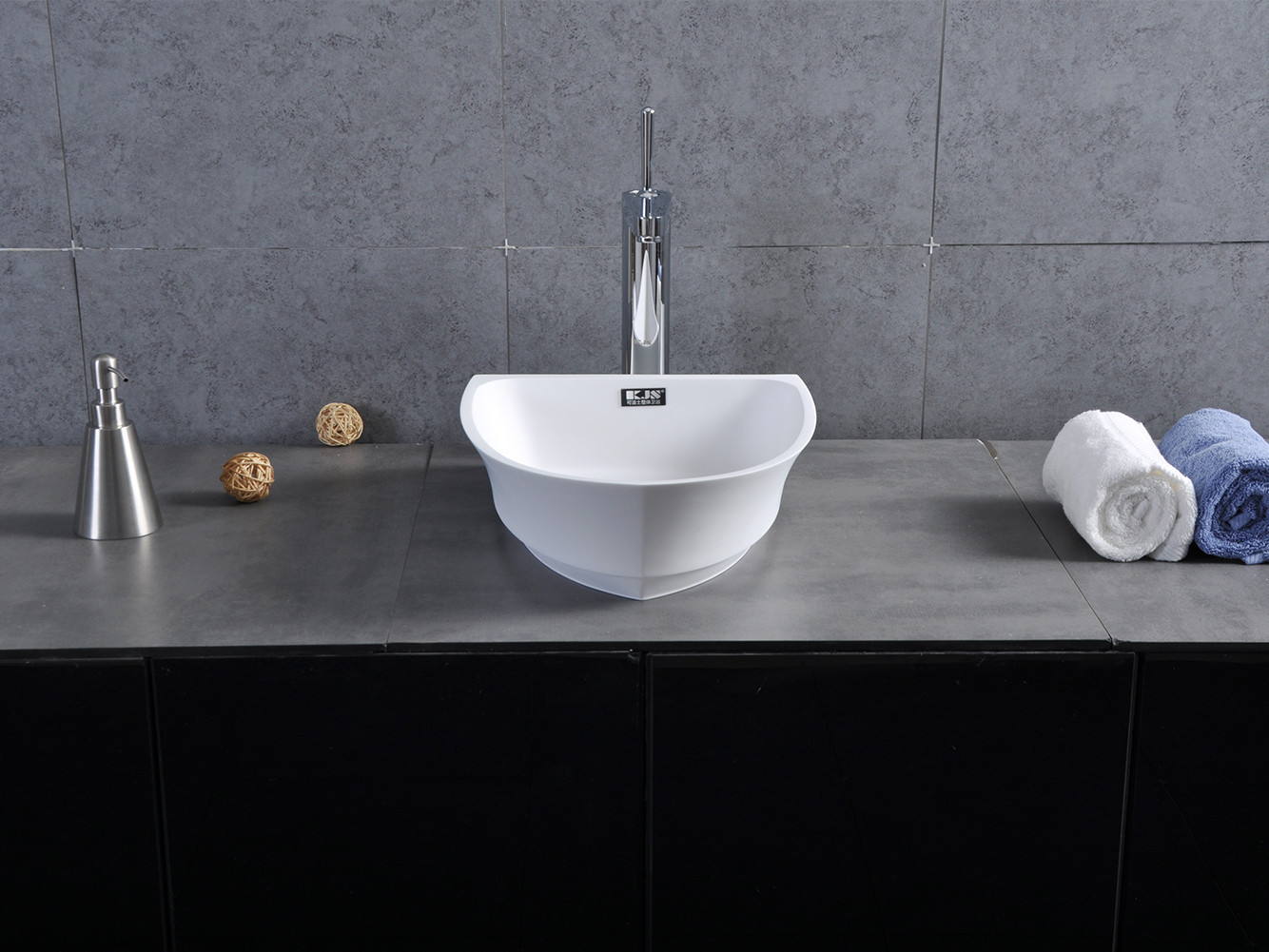 Hot countertop basin colorful Bellissimo Brand