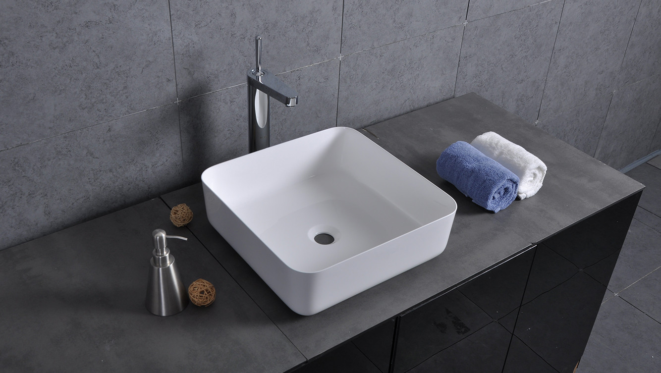 Bellissimo-Find Manufacture About Sligh Edge Square Corner Wash Basin
