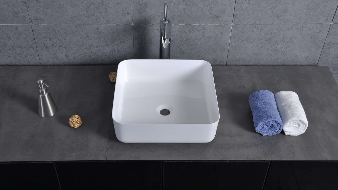 Bellissimo-Find Manufacture About Sligh Edge Square Corner Wash Basin-1