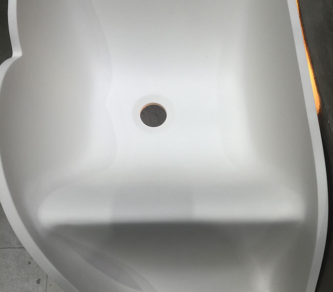 8424 solid beard small wall mount bathroom sink Bellissimo manufacture