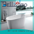 bs8608 Custom acrylic bs8600 solid surface bathtub Bellissimo luxury