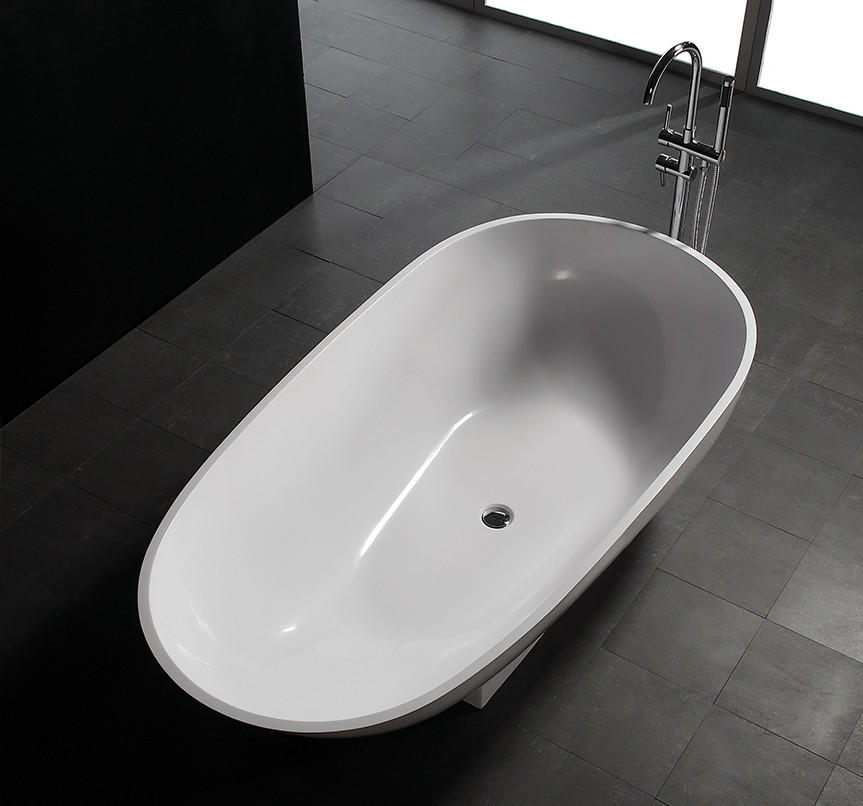 Bellissimo-High-quality 1800 Mm Royal Boat Design Bathroom Solid Surface Bathtub Bs-8616-2