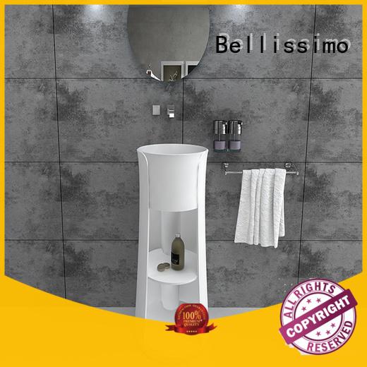 freestanding bathroom basin freestanding bs8514 bs8512 Bellissimo Brand company