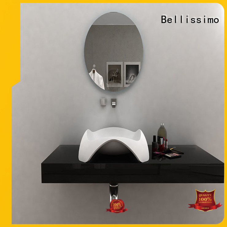 countertop basin wash Bellissimo Brand solid surface wash basin