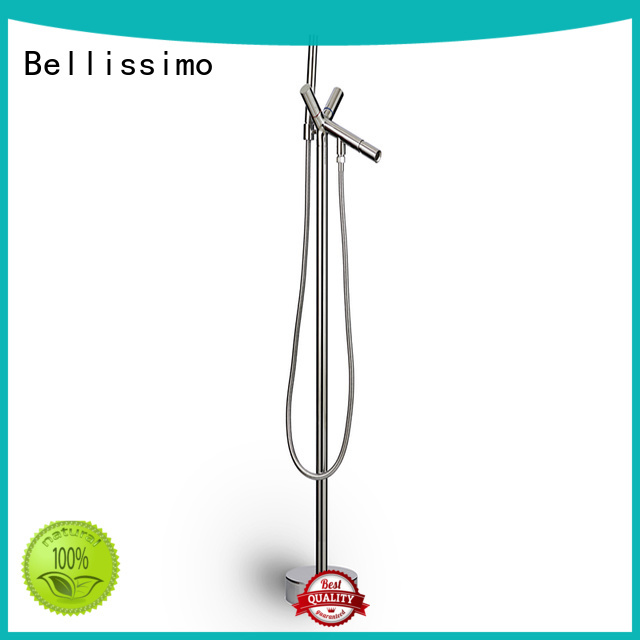 Bellissimo freestanding stainless steel bathroom faucet manufacturer for home