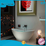 artificial royal freestanding Bellissimo Brand Stone tub manufacture