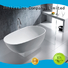 red bs8633a white solid surface bathtub Bellissimo Brand company