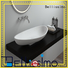 boat counter bs8341 solid surface wash basin Bellissimo Brand