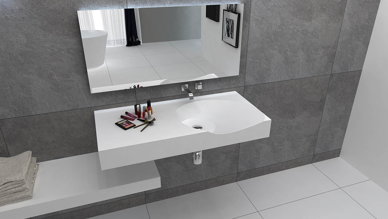 Bellissimo-Professional Rectangular Wall Mount Sink Small Wall Mount Sink Manufacture