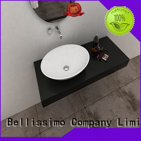 countertop basin modern resin solid solid surface wash basin manufacture