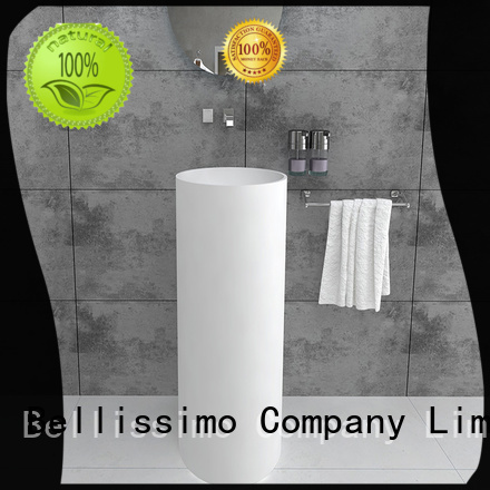 freestanding bathroom basin bs8513 free standing sink Bellissimo Brand