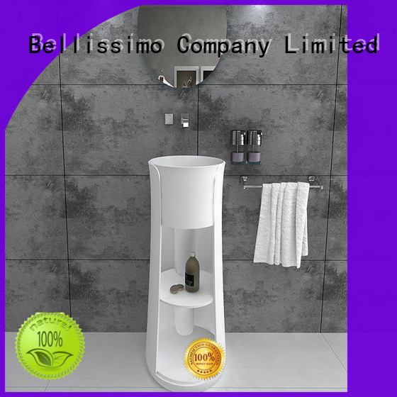 round bs8514 stone bs8513 free standing sink Bellissimo