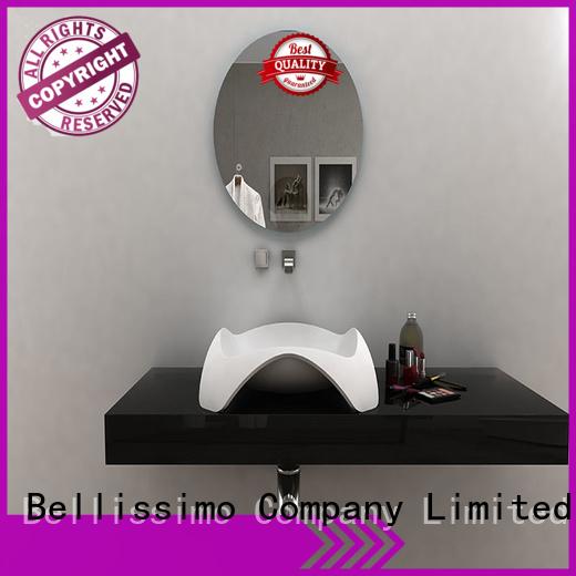 bathroom design countertop basin sligh Bellissimo company