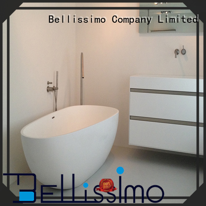 Bellissimo Brand boat small Stone tub white supplier