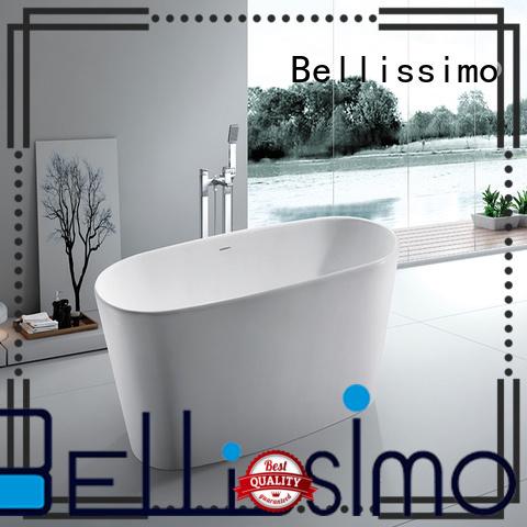 small Custom acrylic solid surface bathtub bs8628 Bellissimo