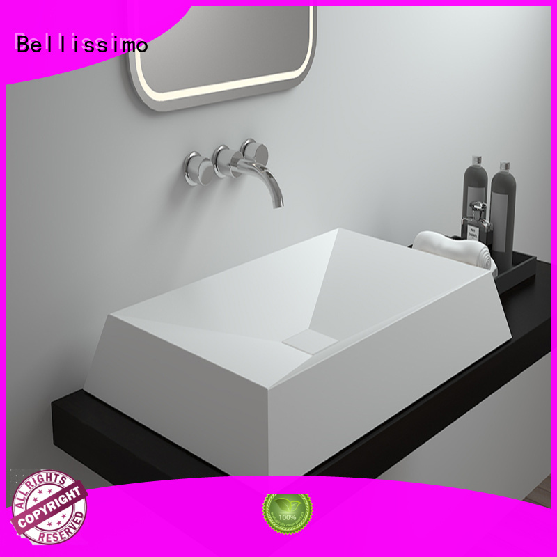 countertop basin bs8345 wash Bellissimo Brand solid surface wash basin