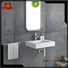 artificial yacht bs8346 black Bellissimo Brand wall mounted wash basins supplier