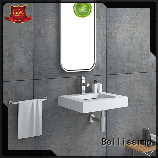 wash surface sink small wall mount bathroom sink Bellissimo manufacture