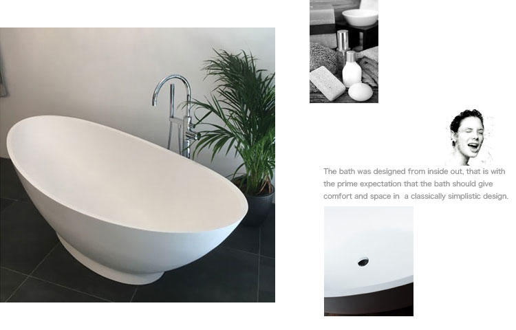 Bellissimo-Manufacturer Of Special Shape Artificial Freestanding Solid Surface Acrylic-2