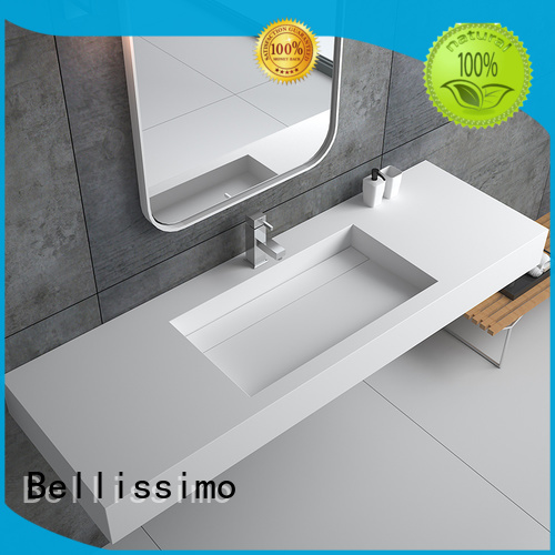 Bellissimo Brand bs8425 small wall mount bathroom sink bs8346 supplier