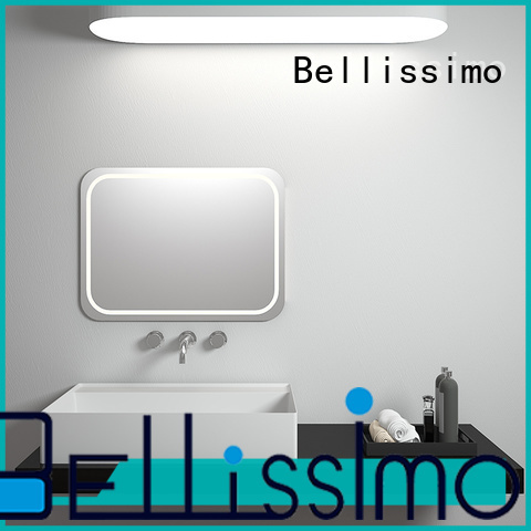 Bellissimo solid surface trough sink bath for hotel