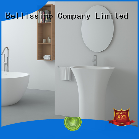 bs8513 wash solid Bellissimo Brand free standing sink