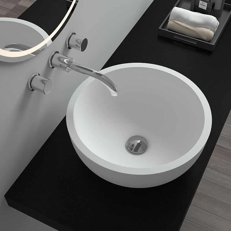 Bellissimo-Countertop Sink Stone Wash Basin From Bellissimo Company