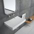 Bellissimo Brand bathroom 8424 sink small wall mount bathroom sink shape