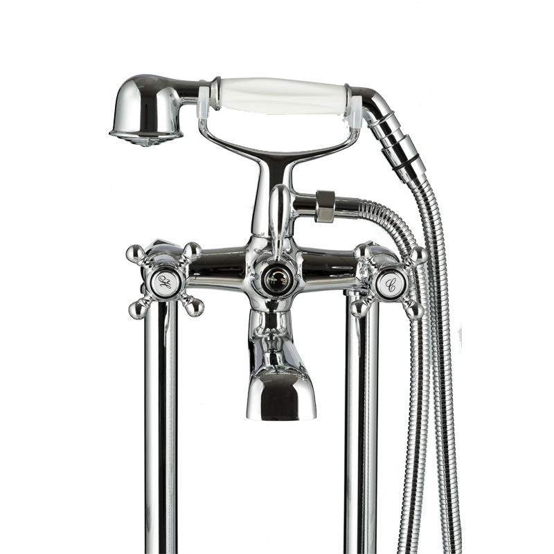 Simple design Freestanding bathroom bathtub faucet BS-23011-A