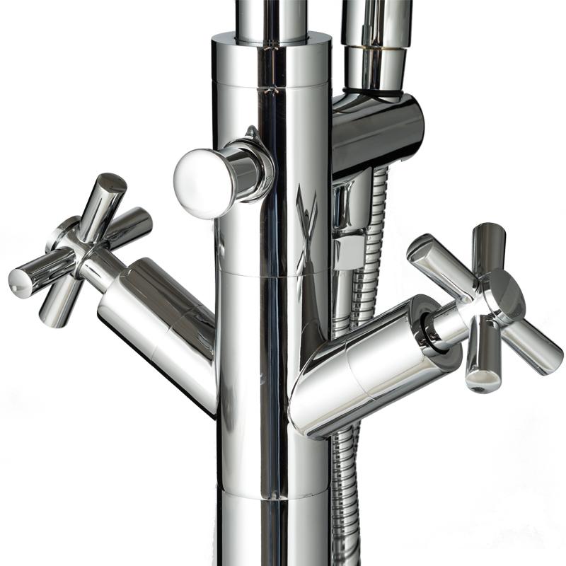 Simple design Freestanding bathroom bathtub faucet BS-23034