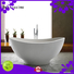 bs8628 standing customsolid luxury Stone tub Bellissimo Brand