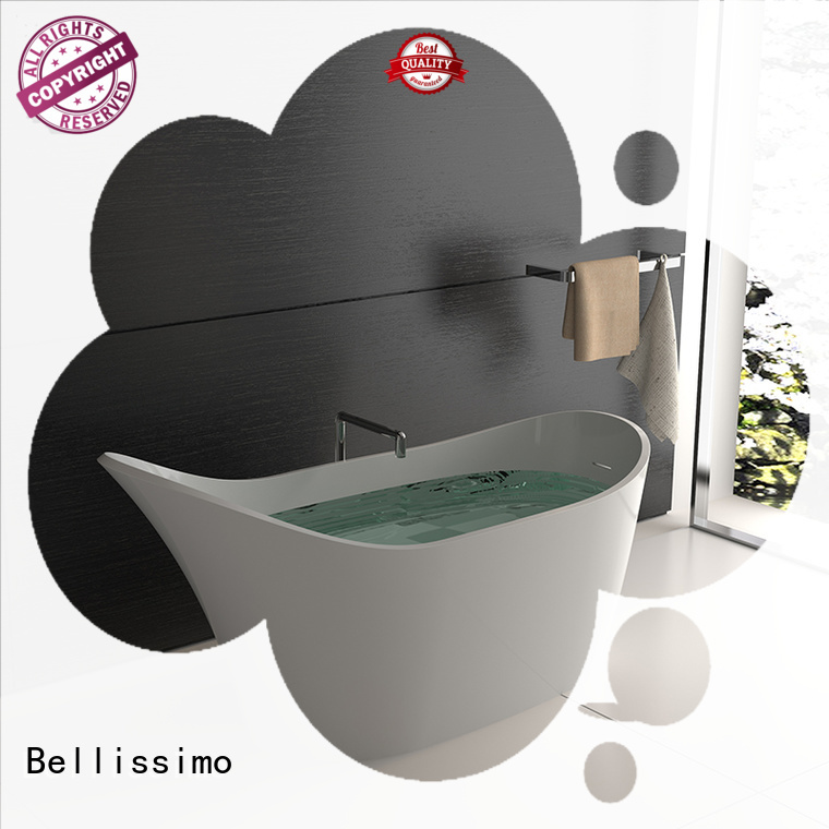 Stone tub free bs8635 customsolid Bellissimo Brand solid surface bathtub