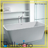 bs8608 freestanding boat Stone tub Bellissimo manufacture