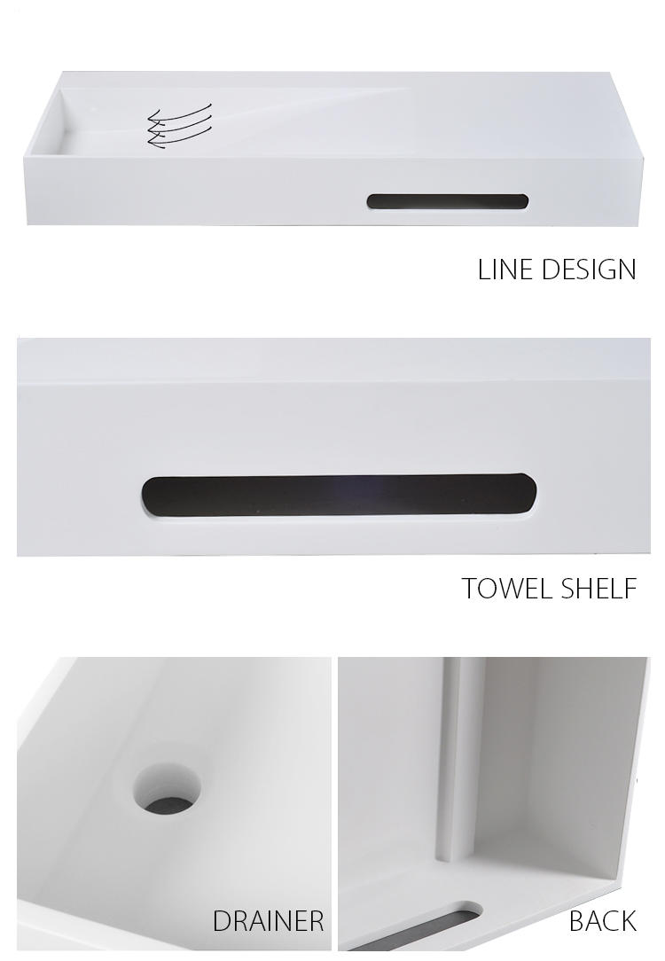 Bellissimo-Manufacturer Of Rectangular Shaped Wall Hung Mounted Wash Basin With Towel-2