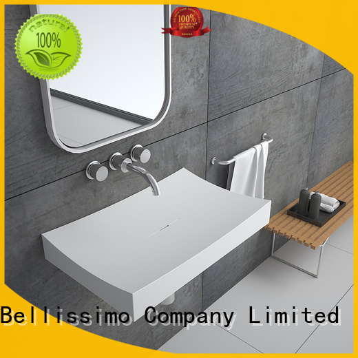 resin 8424 bs wall mounted wash basins Bellissimo
