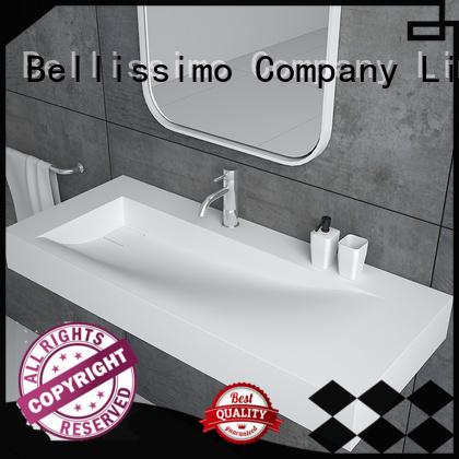 Bellissimo natural stone sink manufacturer for bathroom