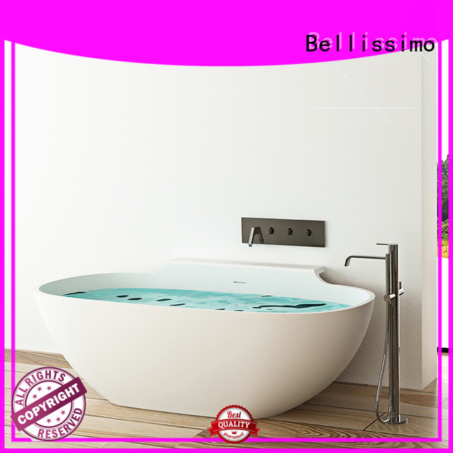 boat acrylic bs8635 Stone tub Bellissimo manufacture