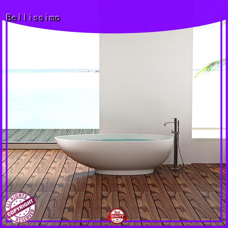 Stone tub small royal acrylic solid surface bathtub manufacture