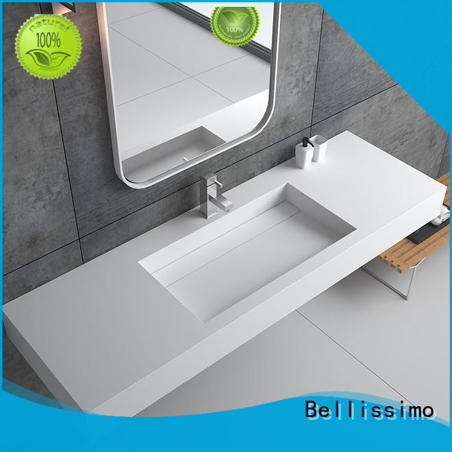 Bellissimo modern solid surface bathtub supplier for bathroom
