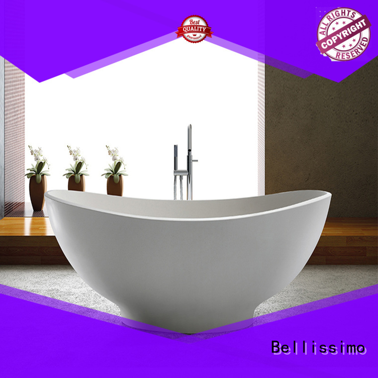 Bellissimo rectangular acrylic bathtub wholesale