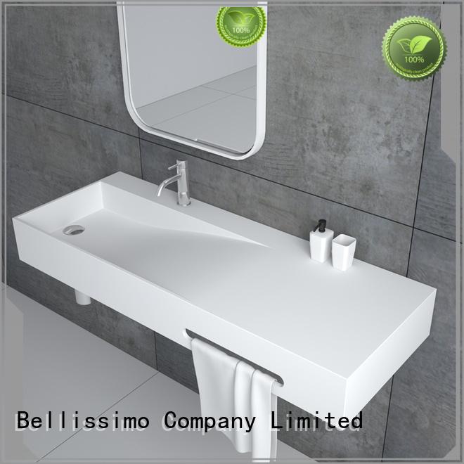Bellissimo stone basin manufacturer for hotel