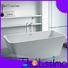 1500mm european deep solid surface bathtub Bellissimo Brand