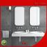 Bellissimo Brand basin bs8409 black small wall mount bathroom sink shape